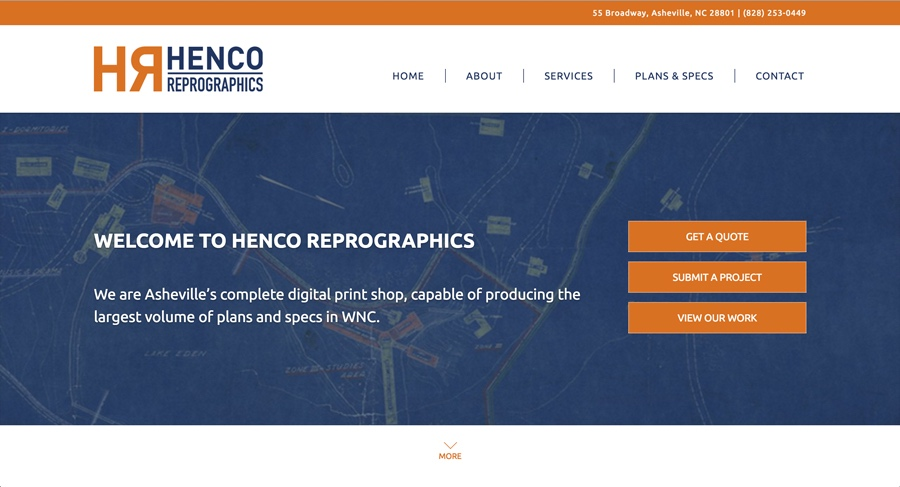 Henco Reprographics of Asheville, NC